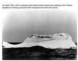 iceberg titanic
