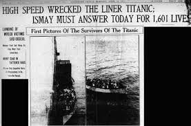titanic maximum speed