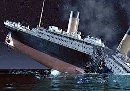 Titanic sank