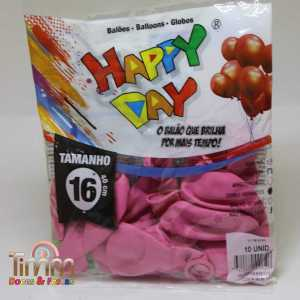 Balão Redondo 16′ | Happy Day | Pct com 10u