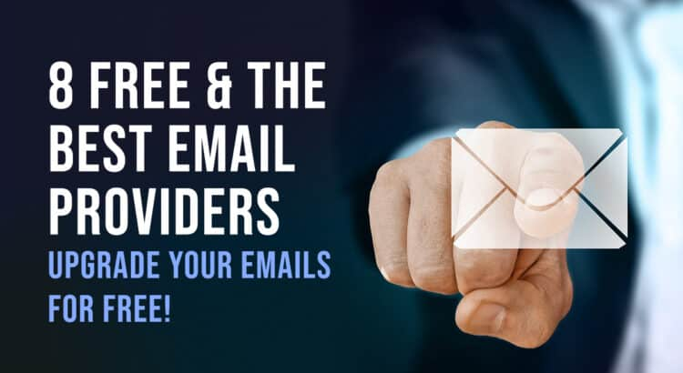 Free and the best EMail providers - timminsgoldminetours