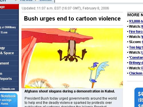 Cartoon Violence.