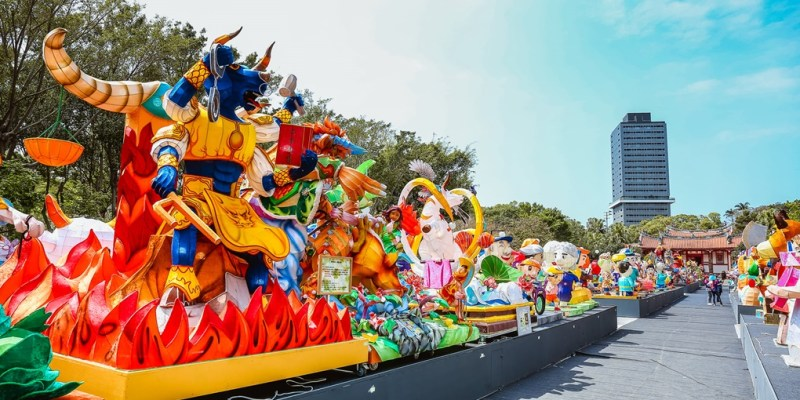 2021全國花燈競賽就在新竹(搶先看)!4月24日~5月2日開放給民眾參觀!