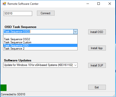 Windows 10 Osd
