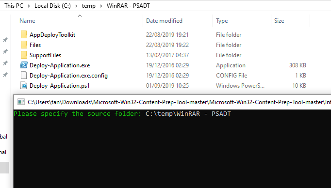 Using PSADT with win32 Apps in intune – TimmyIT com