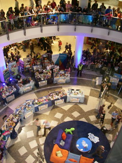 Blue Peter 'Bring and Buy' Lakeside Shopping Centre