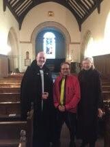 Meeting the Vicar of Dibley!