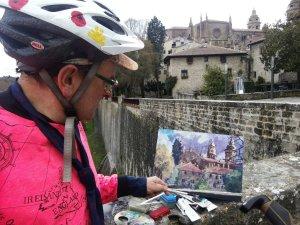 Pamplona painting
