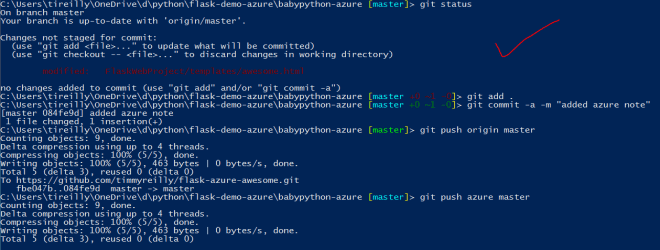 Starter Site for Flask On Azure Web Apps – Timmy Reilly's Blog