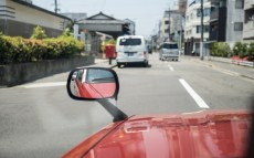 I love bonnet mounted wing mirrors