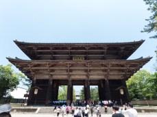 The main gate to the Tōdai-ji complex
