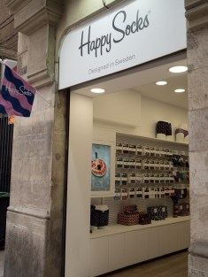 An actual shop for the website where all my socks come from.