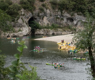 A popular place for kayaks