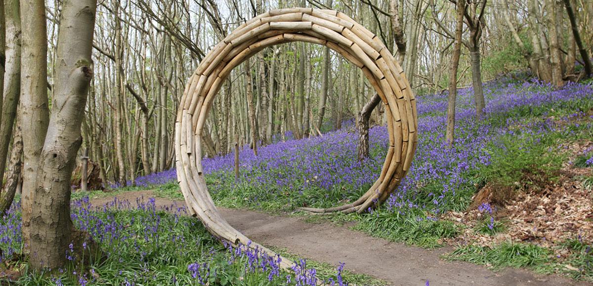 Spiral Coppice Arch