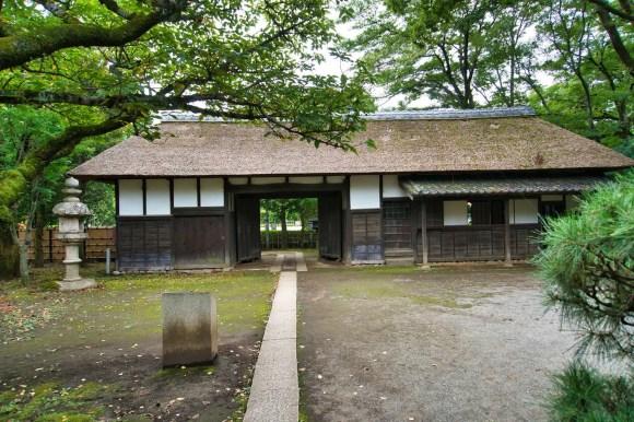 Traditionelles japanisches Bauernhaus.