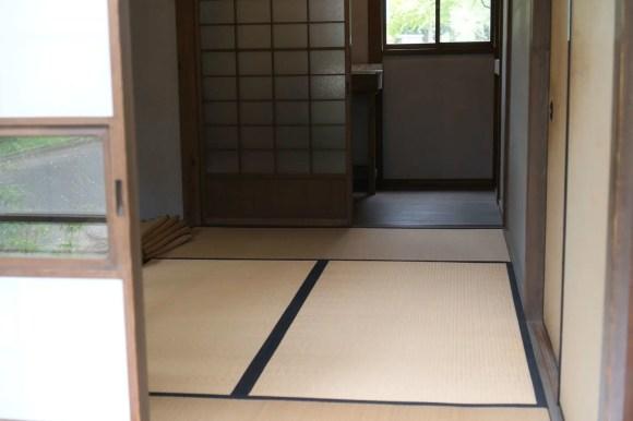 Traditioneller japanischer Innenraum.