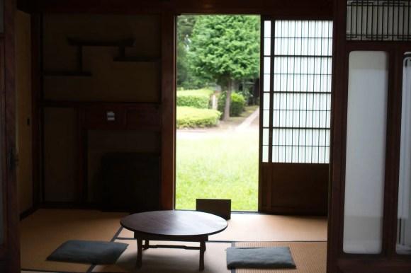 Traditioneller japanischer Raum.