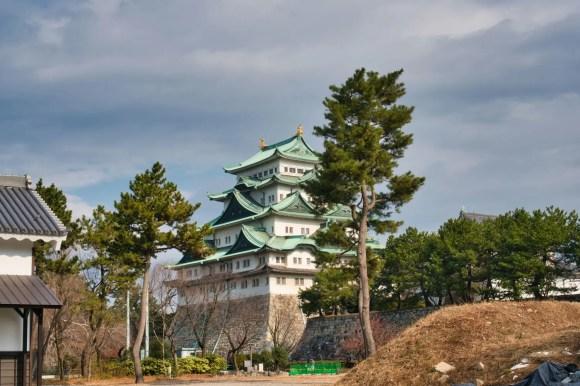 Bild von der Niederungsburg Burg Nagoya