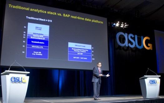 Traditional stack vs SAP stack