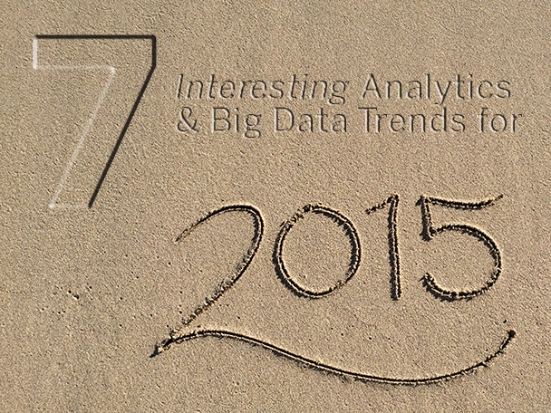 big data and analytic trends 2015