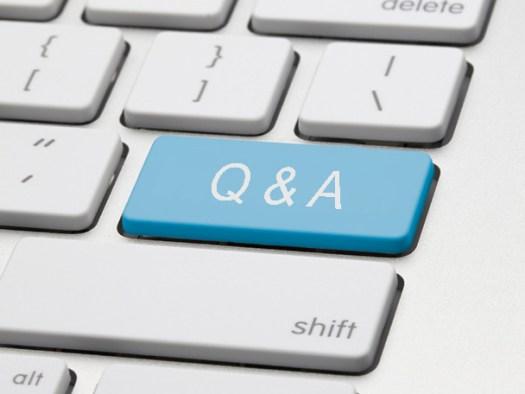Q&A Keyboard