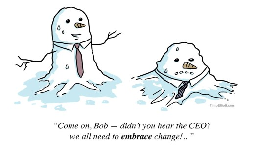 melting-snowmen-embracing-change