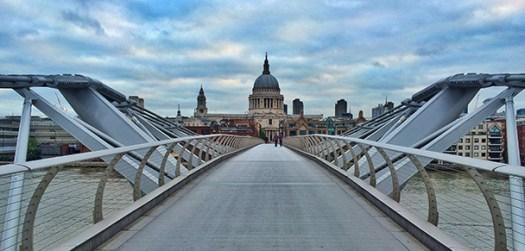 london millenium bridge small