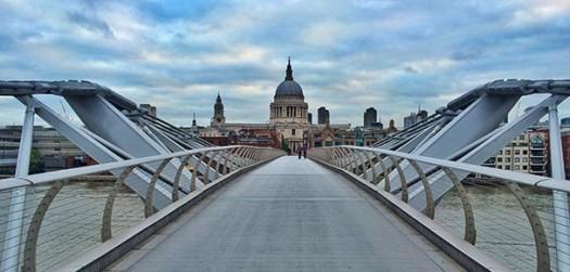 london millenium bridge small