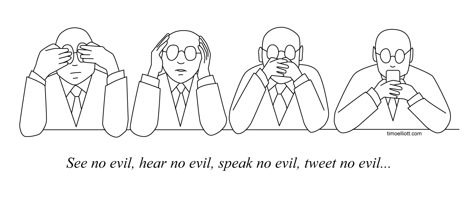 The Three Wise Monkeys — Updated