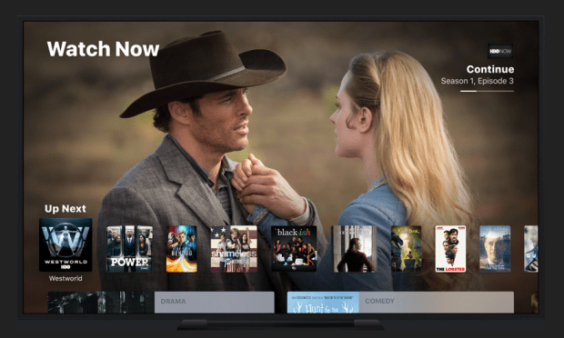 Apple TV App: TV