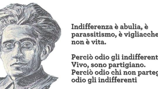 """Gramsci e il suo """"odio per gli indifferenti"""""""