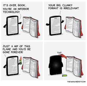 tablette vs livre