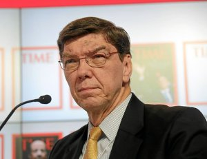 Clayton Christensen, author of How Will You Measure Your Life?