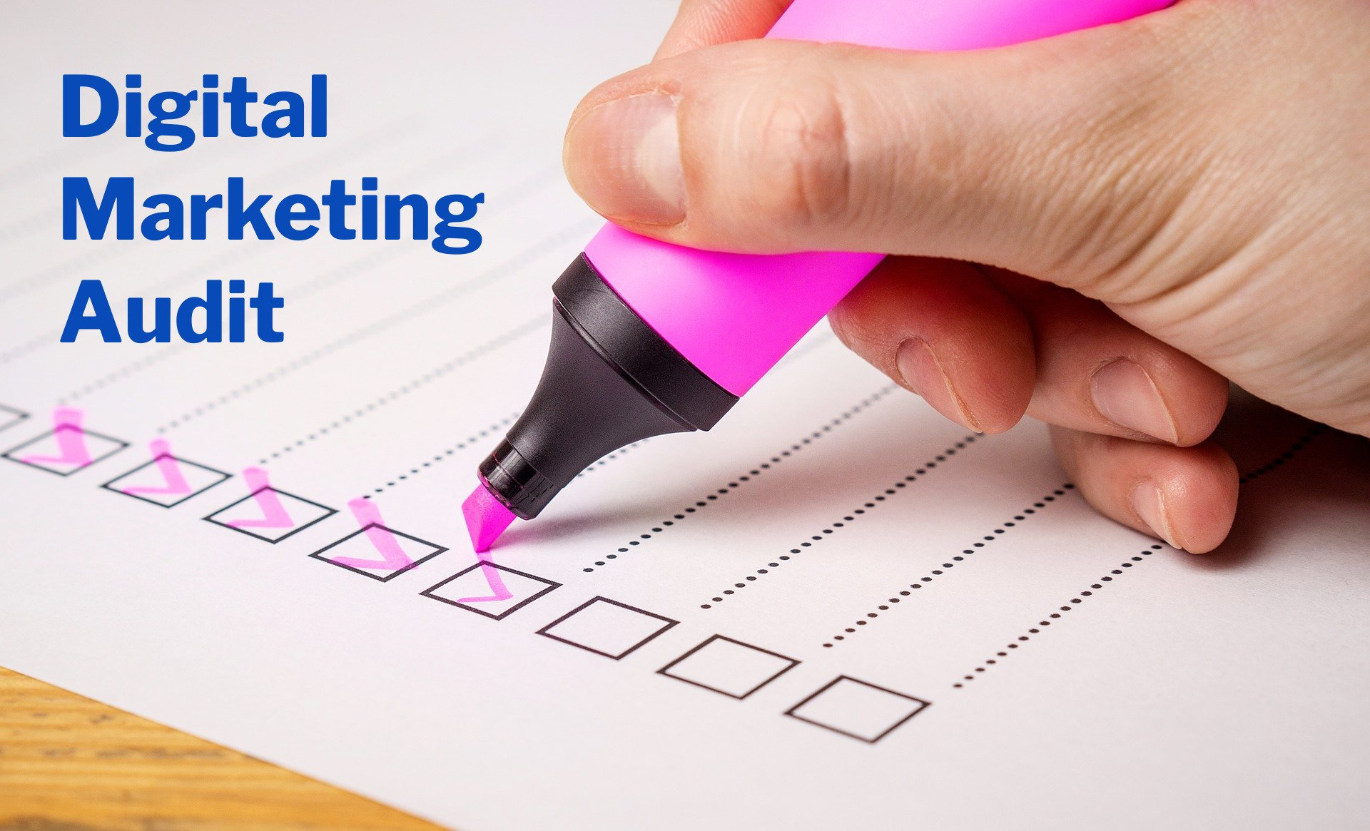How To Promote A Business Online - Do A Digital Marketing Audit