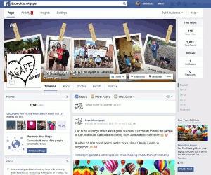 Digital Marketing Consultant Singapore - Portfolio - Facebook Marketing - Expedition Agape Facebook Page
