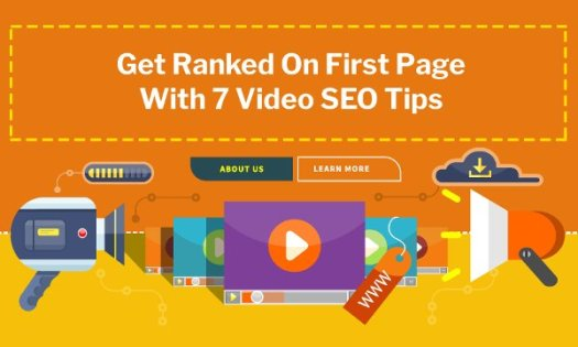 Get Ranked On First Page With 7 Video SEO Tips
