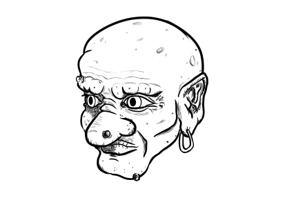 Troll Experiment Drawing