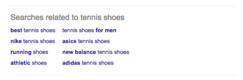 google tennis shoes bottom