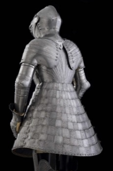 medieval tonlet armor worn by tournament hedge knights and kings in the middle ages