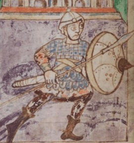 medieval armor from the 9th century