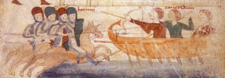 realistic medieval naval warfare