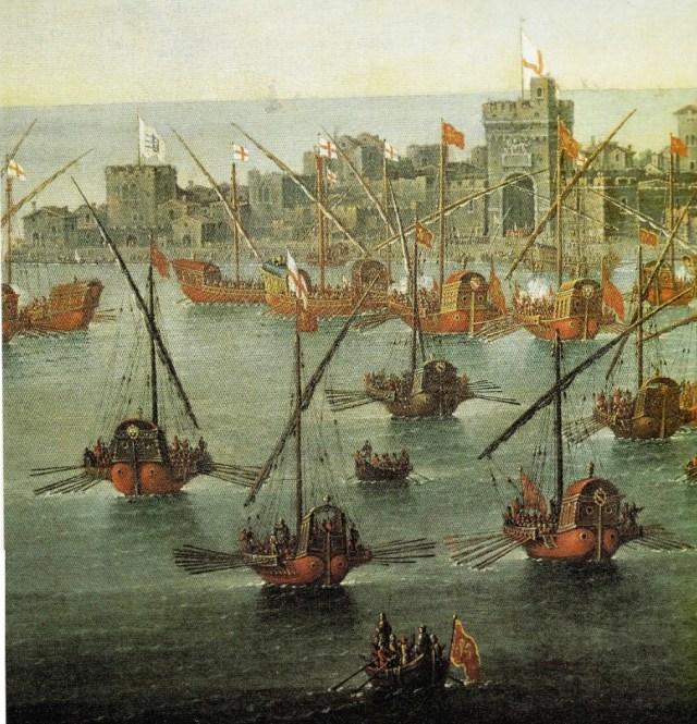 medieval galley