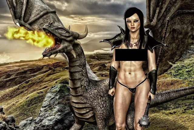 fantasy dragons vs. medieval dragons