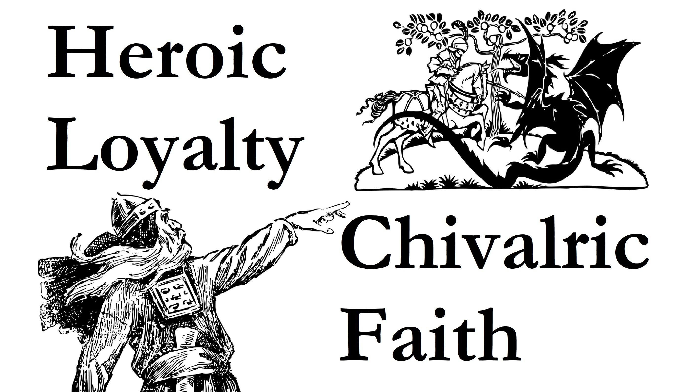 chivalry vs heroism in medieval literature