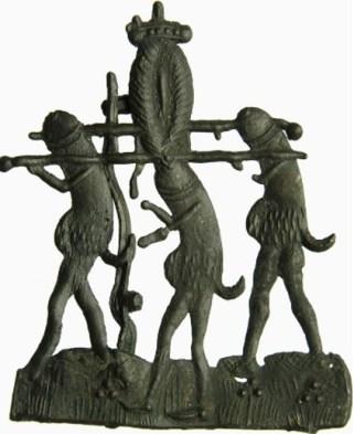 medieval pilgrim badge of penis