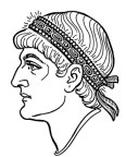 medieval meaning of diadem what do you call a martyrs headgear