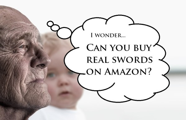 can you buy real swords on amazon?