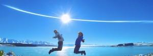Jump! Lake Pukaki