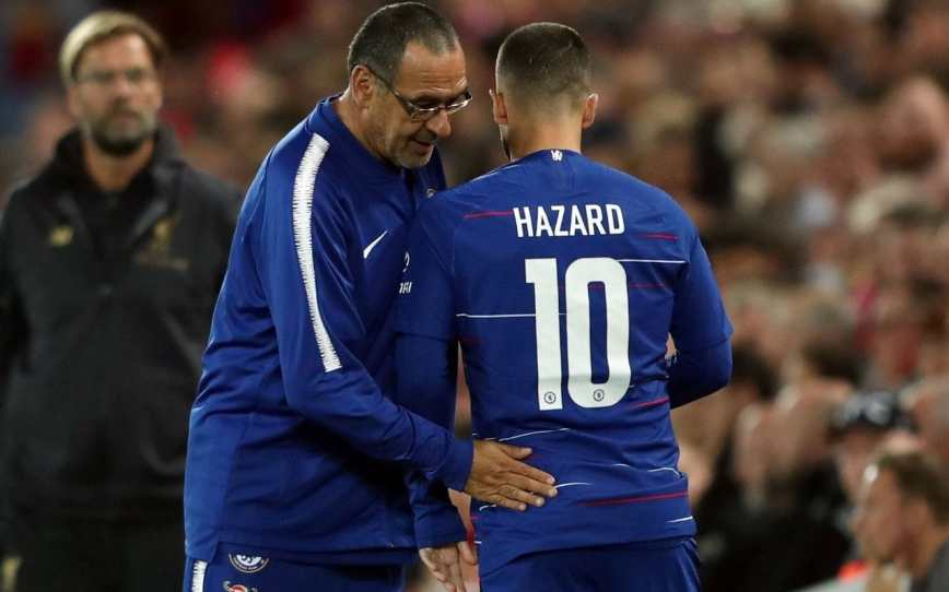 Detailing Maurizio Sarri's game model in possession, and Chelsea's current issues