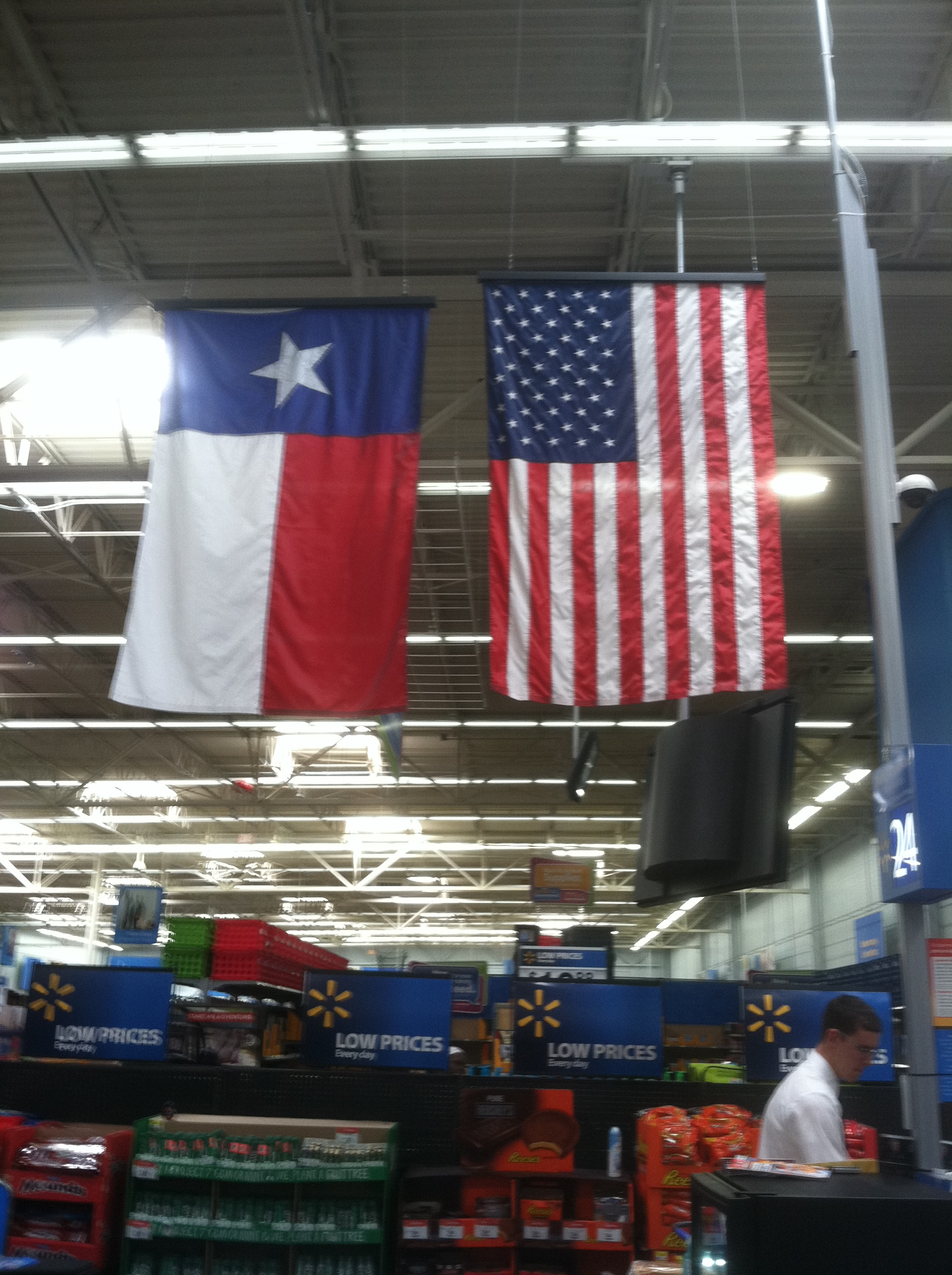 Flag Etiquette Cowboys Wal Mart Fail On Flag Flying
